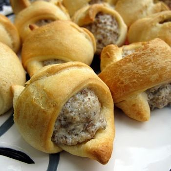 Sausage and Cream Cheese Crescents | Favorite Recipes | Pinterest
