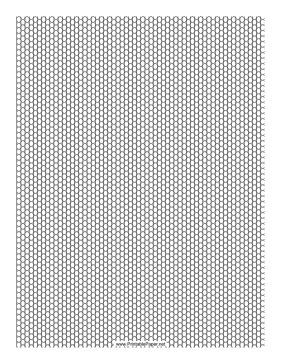 This Seed Bead Peyote Pattern beadwork layout graph paper features seed beads in a single-row peyote pattern. Free to download and print