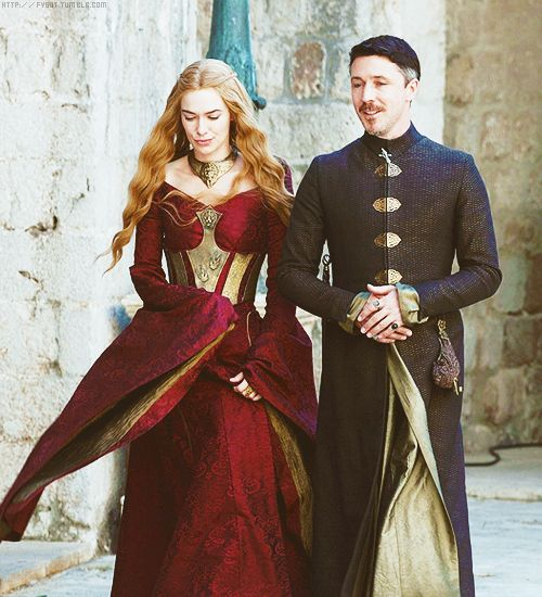 Would Cersei kill me if I just stole this dress and that metal corset belt? That has to be my favorite of all time.