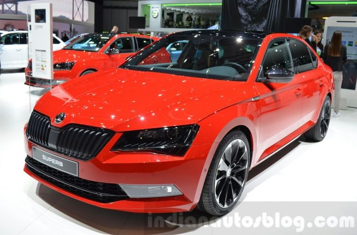 Skoda Superb SportLine – Geneva Motor Show Live