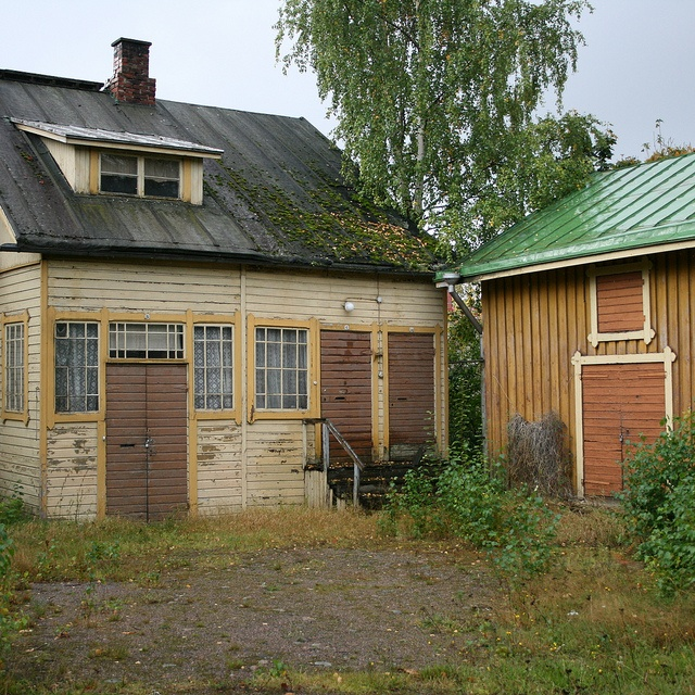 Old country house, Pispala, Tampere, Finland, 2008, photograph by Liivia Sirola.