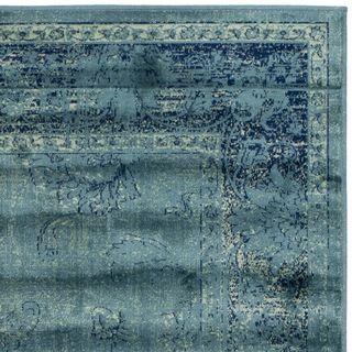 Safavieh Vintage Turquoise Viscose Rug 5 3 X 7 6