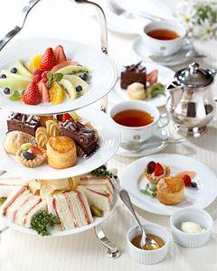 Afternoon tea @Hotel New Grand, Yokohama, Japan. Yummy!