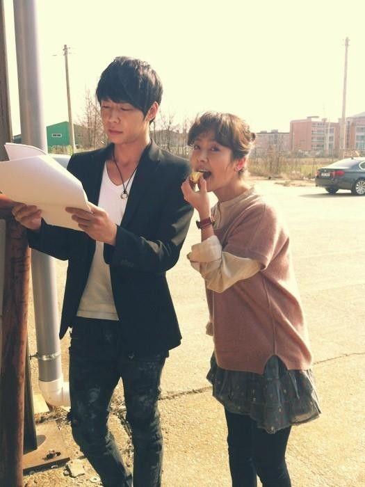 Han Ji Min and Park Yoo-chun
