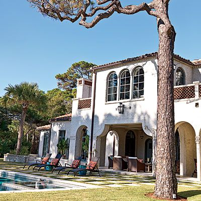 Mediterranean Style - New Home with Old World Style - Coastal Living