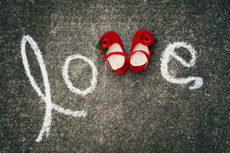 Beautiful--Do one with baby shoes and wedding shoes.