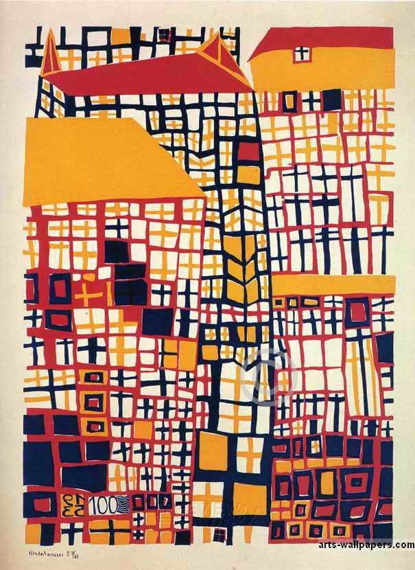 Friedensreich Hundertwasser Paintings