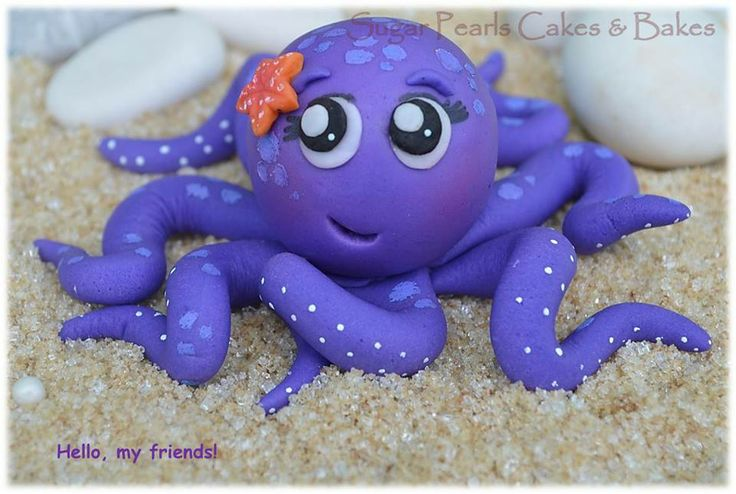 Octopus by Sugar Pearls Cakes & Bakes