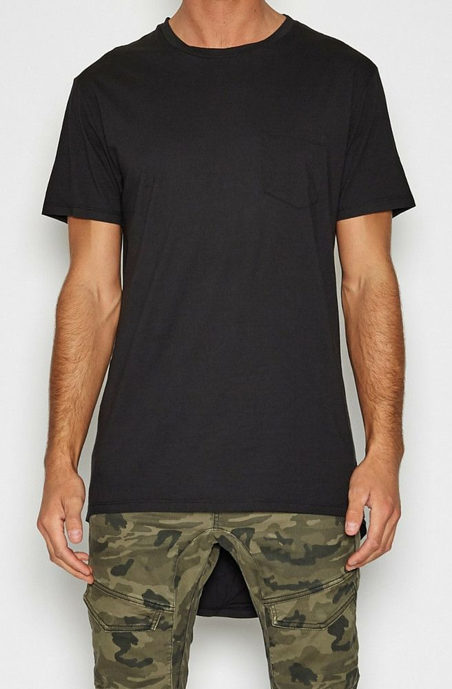 Nena & Pasadena - Airwolf Cape Back Pocket T-Shirt