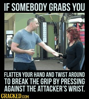"weird-biscuits: "" xxxkyrareaperxxx: "" cracked: ""  11 Self-Defense Techniques (That Even A Child Could Use)  "" These are great! These are all really useful methods of defending yourself and I actually learned most of these in my Krav Maga classes. I..."