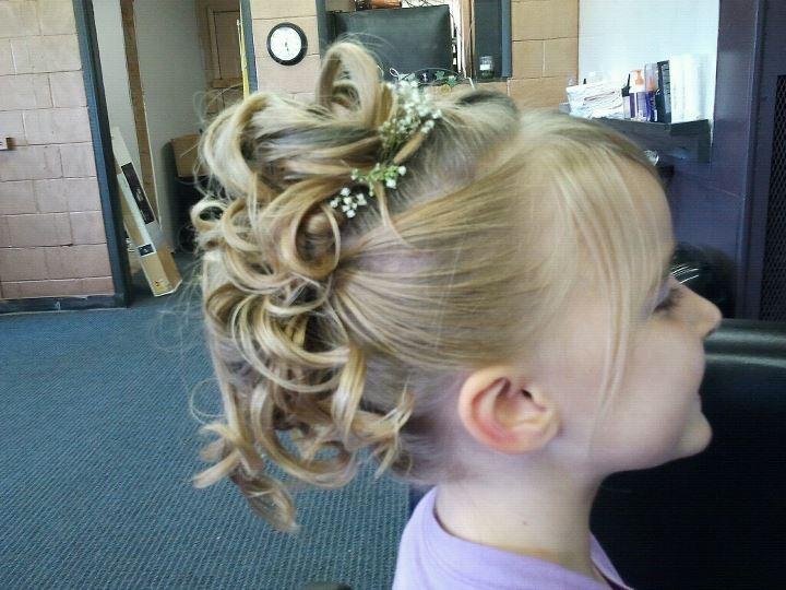 Brilliant 1000 Images About Children39S Hair On Pinterest Updo Flower Hairstyles For Women Draintrainus