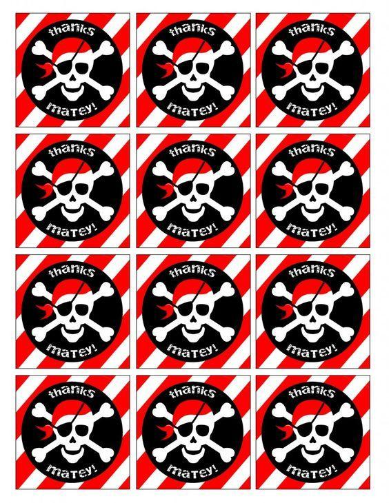 постер на пиратскую вечеринку своими