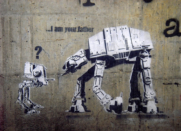 """""""Dolk """"I am your father"""""""" by Chris Steele 