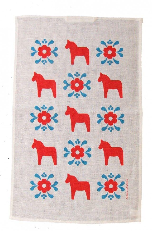 Classic swedish kitchen towel