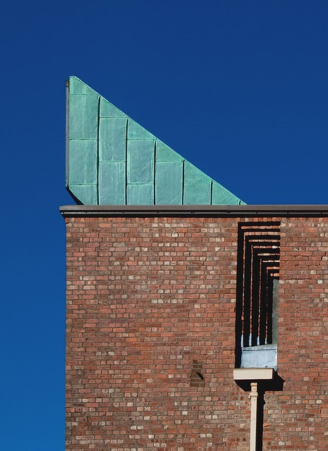Gillespie, Kidd & Coia Arch.: St. Bride's Church, Glasgow, East Kilbride, UK, 1958-64