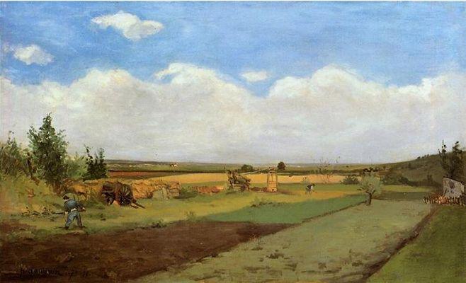 Paul Gauguin, Working the Land, 1873