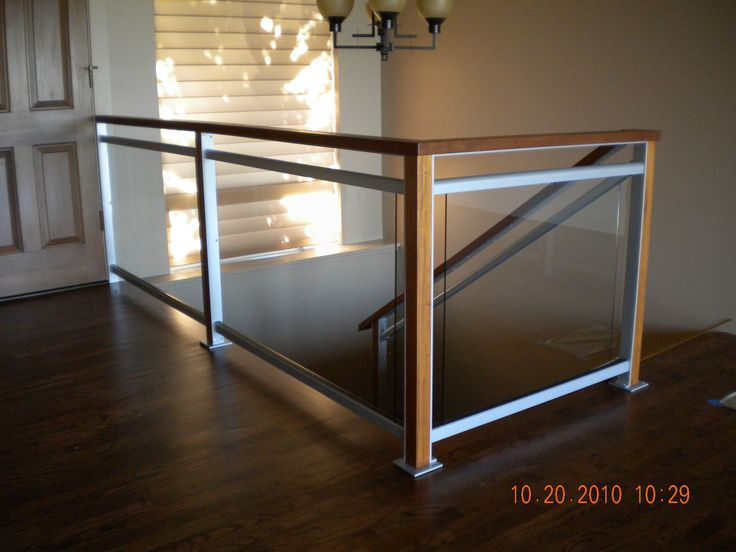 17 best images about home renos on pinterest tvs stair for Indoor glass railing