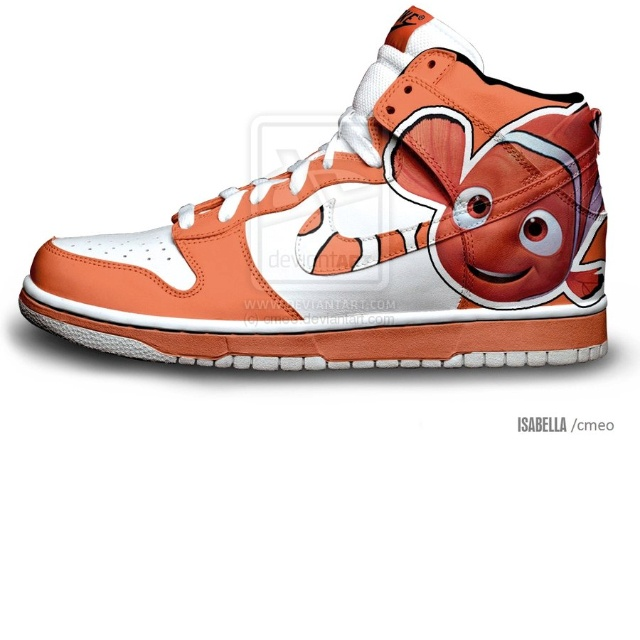 Nemo Nike Dunks- these are the shoes I will be getting when I start to