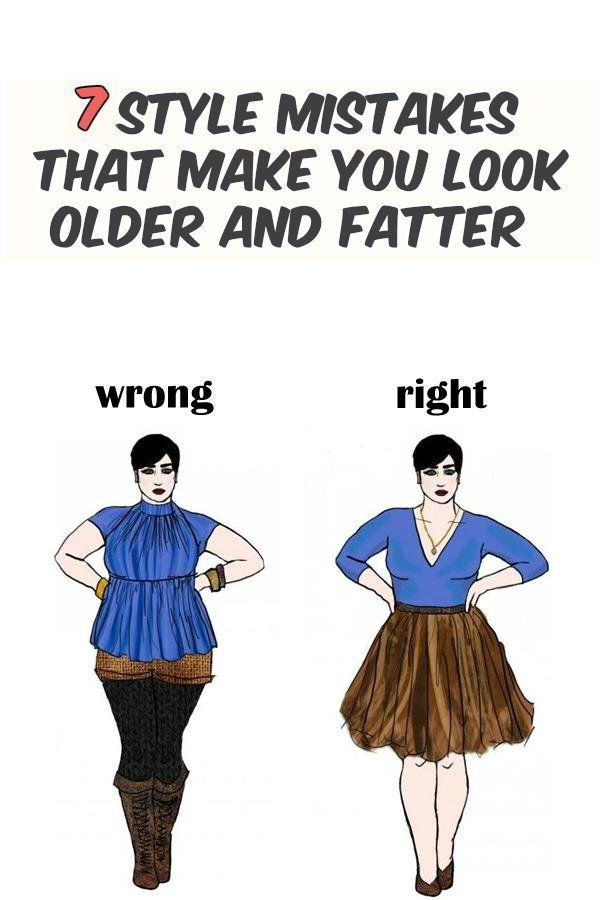 Wrong Clothes that Make You Look Fat