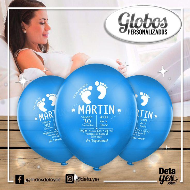 Novedosas Invitaciones con Globos  para Baby Shower,  somos @deta_yes , Envíos a Toda Colombia, Pedidos 3185657519
