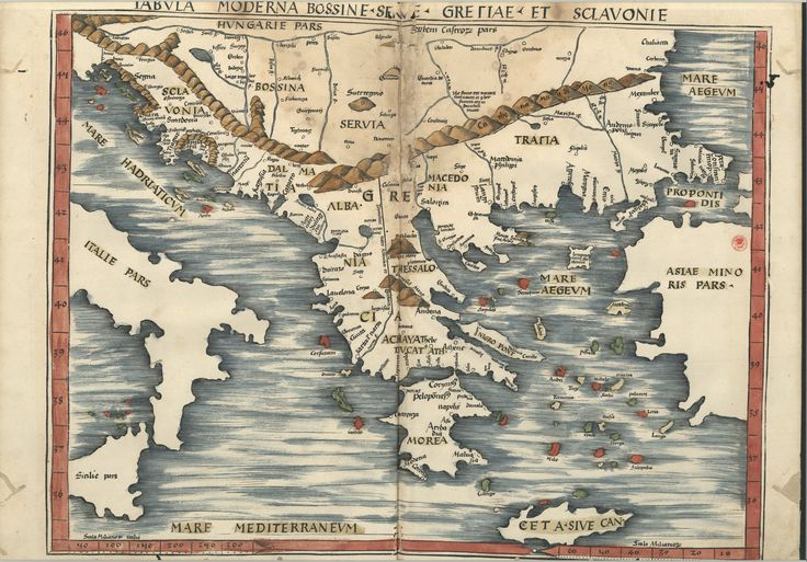 "C.A. 152 V. - 0245 - Ptolomeu (ca 90-ca168) – ""Claudii Ptolemaei viri Alexandrini Mathematicae…"".   Argentinen : Joannis Schotti, 1513.  BNP C.A. 152 V."