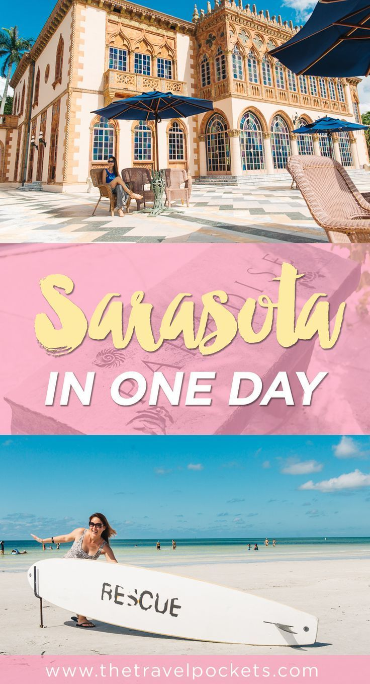Things to do in Sarasota, Florida in one day. Been to st. Armand's circle and siesta key beach. But not to the circus museum