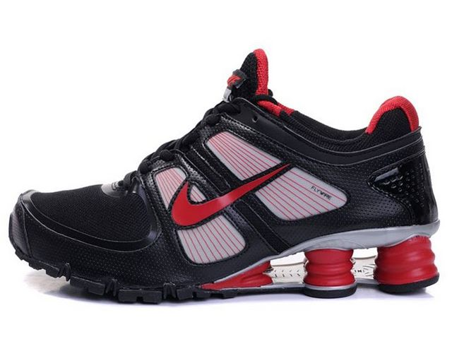official photos 66e82 44db7 ... hommes nike shox turbo 21 or jaune Chaussures Nike Shox Turbo Noir/  Rouge/ Argent [nike_12469] - €45.91 ...