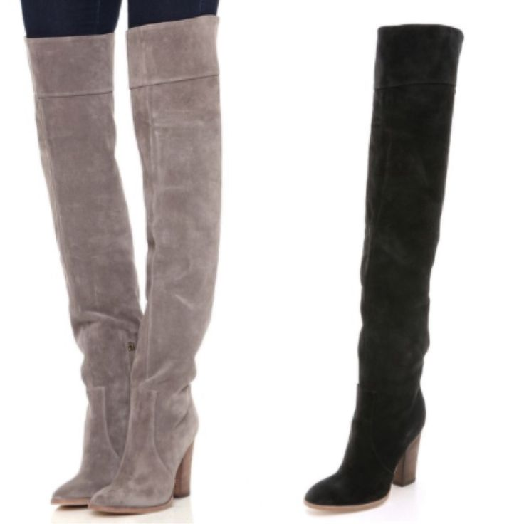 TO BUY: Club Monaco - Lisa Suede Over the Knee Boots £389