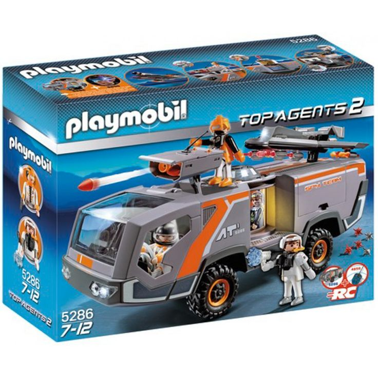 Playmobil Όχημα επιχειρήσεων της Spy team 5286