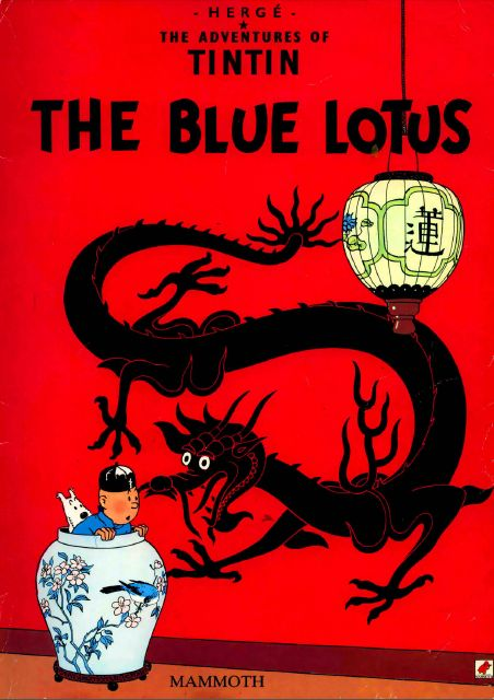 Free download Pdf files: Tintin and The Blue Lotus Pdf