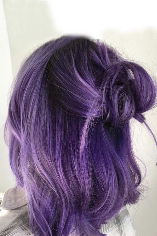 49 Cosmic Darkish Purple Hair Hues For The New Picture