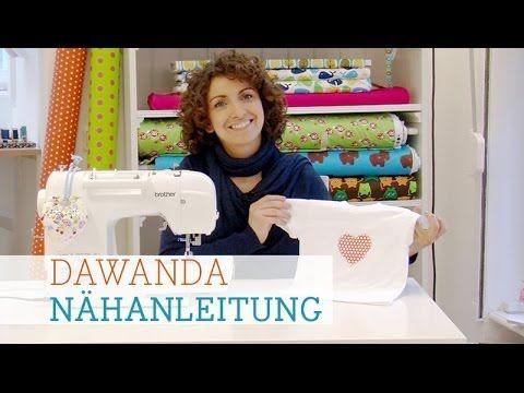 "DaWanda Nähschule: ""Wie nähe ich eine Applikation?"" - YouTube"