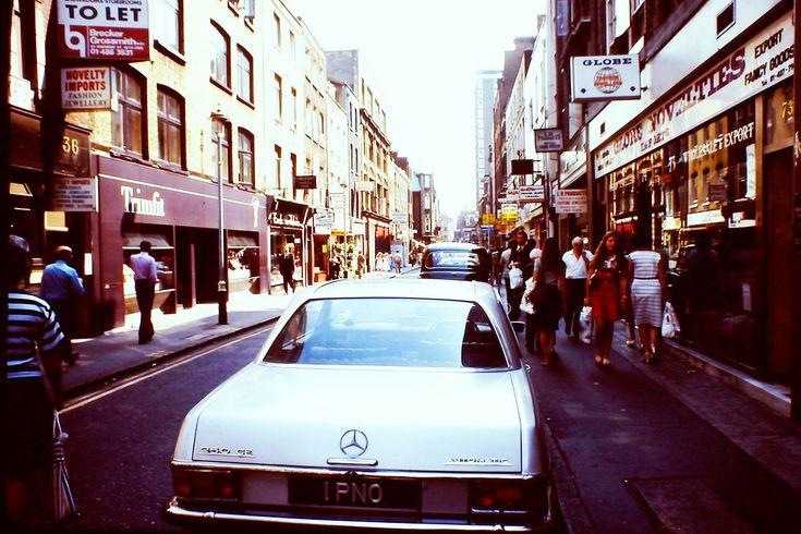 British London's West-End in the Heatwave of '76Soho - Berwick Street