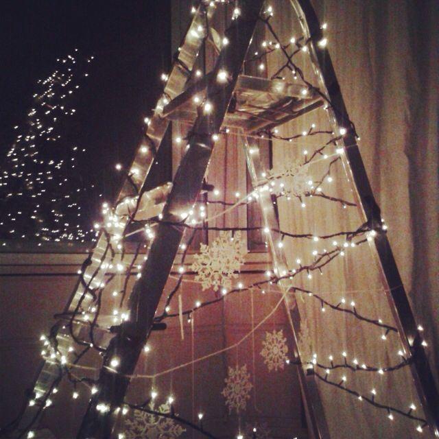 15 besten weihnachten bilder auf pinterest leiter. Black Bedroom Furniture Sets. Home Design Ideas