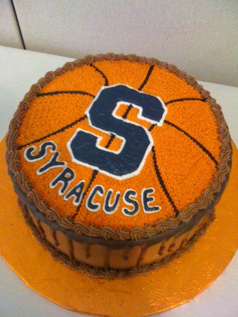 football cupcake cake grooms cake basketball syracuse grooms cakes by 4308
