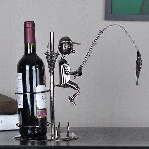 Fisherman Wine Holder I Newell Furniture