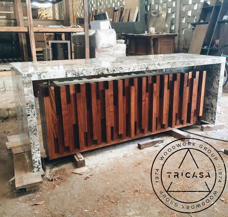 Lista para entrega barra bar fabricada en madera de for Barra bar madera dibujo