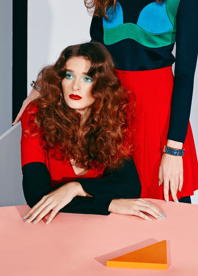 Three Women-Paper Magazine - Adi Goodrich