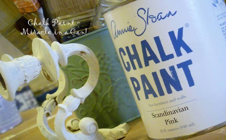 another chalk paint idea