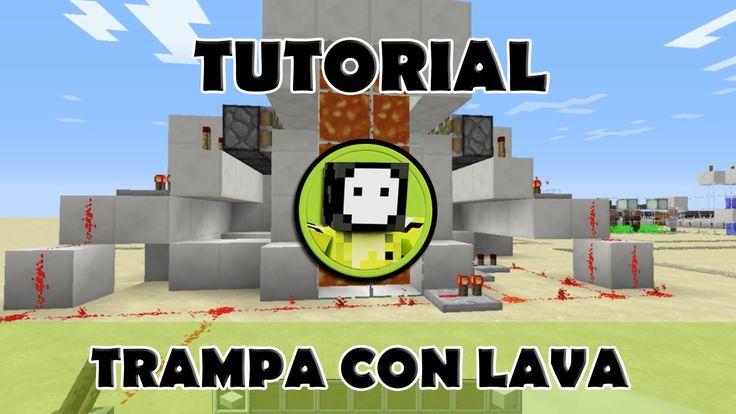 Tutorial Minecraft   Trampa de cofres con lava