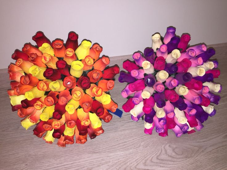 Mega ramos de 70 rosas de madera. #rosasdemadera rosasdemadera.org