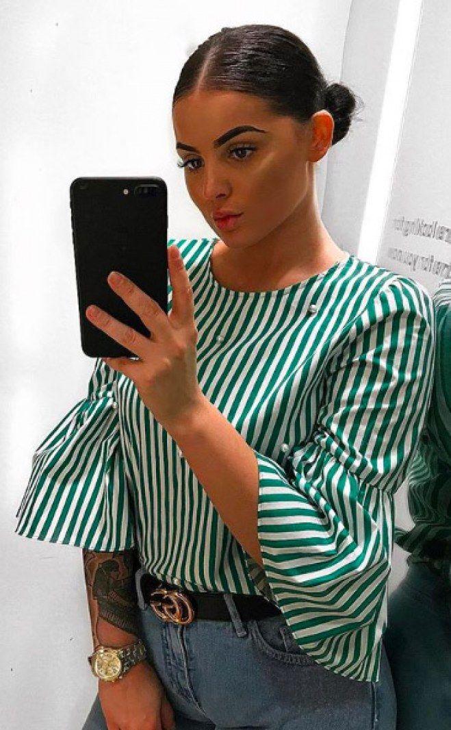 Le chignon bas plaqué 50 coiffures de blogueuses pour