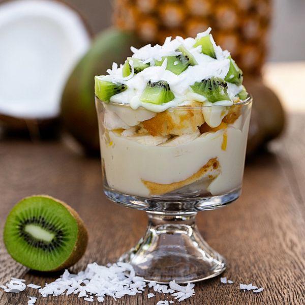 Tropical Desserts Islands Trifles Coconut Shaving Free Trop