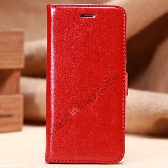 K-Cool Sheep Wallet Leather Case Stand Cover for iPhone 6 Plus 5.5 Inch With Card Slot - Red US$13.69