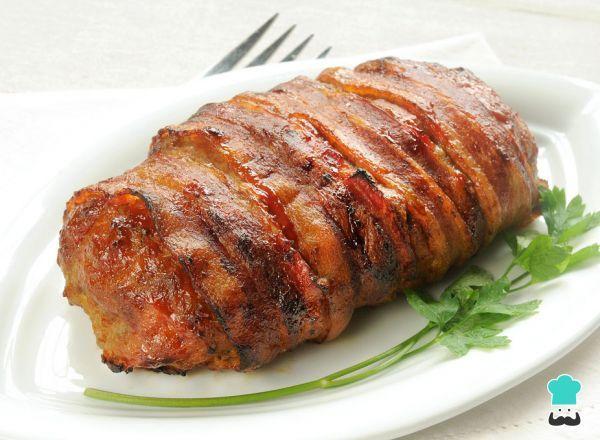 Receta de Enrollado de carne molida al horno
