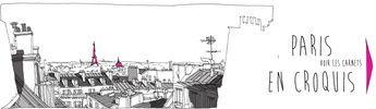 L'Oeil du pigeon dans les arrondissements parisiens, c'est un point de vue sur Paris d'un illustrateur (de formation architecte, Patrice Rambaud), sous forme de plus de 700 croquis le tout réparti sur une série de 20 livres, soit 20 arrondissements.