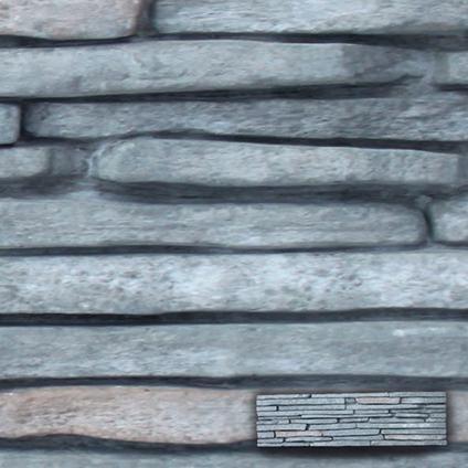 Wandtegel steenstrip venezia grafiet 55 x 15cm per 0,5m2 | Praxis