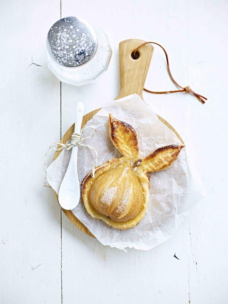 Een overheerlijke peer in bladerdeeg, die maak je met dit recept. Smakelijk!