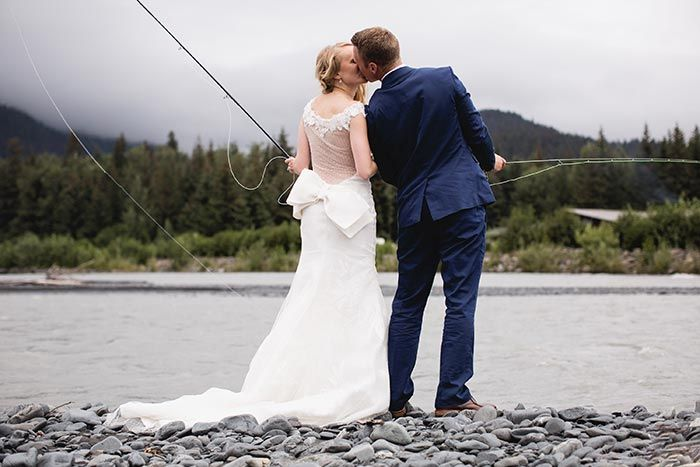 Thanks Orvis! Fly fishing Weddings are so awesome.