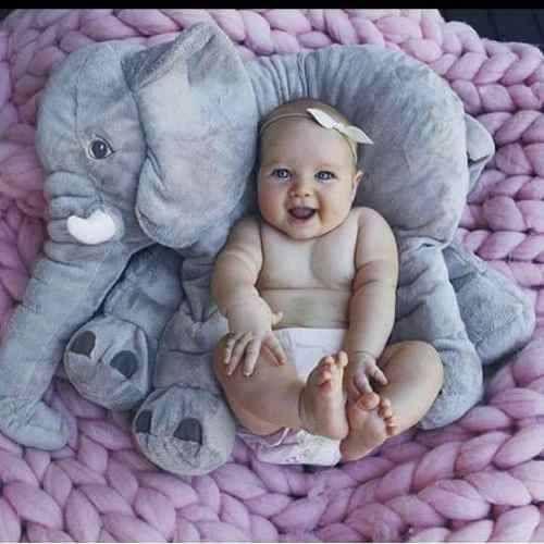 Elefante Almofada Pelúcia 60 Cm C/ Enchimento - R$ 99,00 em Mercado Livre